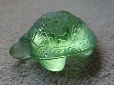 Lalique - Green Turtle - Boxed  • 125£