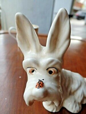 Vintage Beswick Scotch Terrier Dog Ladybird On His Nose Model 804 • 15£