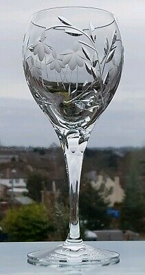 CASCADE  Goblet / Water  225 Mm Tall  NEW GLASSES  Super Quality Crystal STUART • 22£