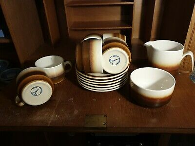 Iden Pottery Rye Sussex 14 Piece Set Assorted • 17.99£