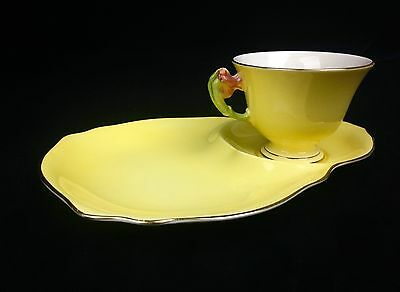 Royal Winton Grimwades 1940's Tea Cup And Plate / Tea For One / Yellow  • 30£