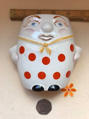 Fabulous Vintage Lord Nelson Pottery Humpty Dumpty Wall Pocket/Toothbrush Holder • 31.50£