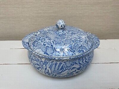 Burleigh Ware - Scilla By Lillian Delevoryas Tureen / Vegetable Dish With Lid • 39.99£