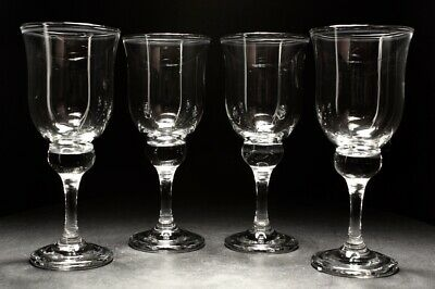 20th Century Vintage Retro Large WIne Glass Set C1980s • 40£