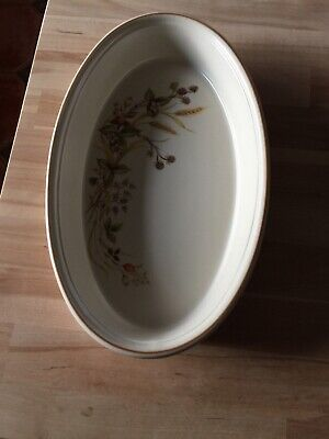 MARKS & SPENCERS M&S HARVEST OVAL VEGETABLE SERVING DISH BOWL 12  X 7.5 Ins  • 14.95£