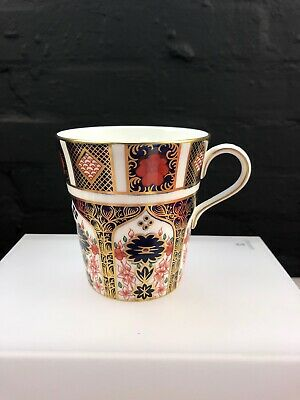 Royal Crown Derby Old Imari 1128 2nd Quality Mug Beaker 3.75  MMIV 2004 • 42.99£