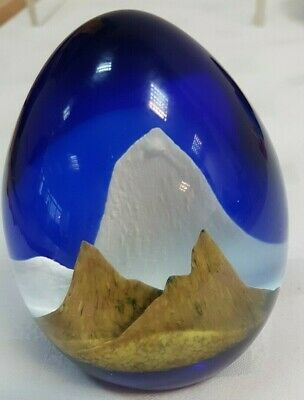 Caithness Scottish Glass Paperweight  EVEREST  Number 482/750 • 30£