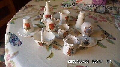 Joblot Of Crested Ware • 5£