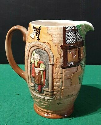 """Vintage Beswick Jug """"Merry Wives Of Windsor"""" No. '1126' With Falstaff • 15£"""
