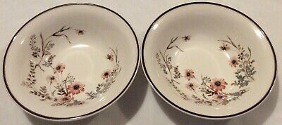 "Arklow Honey Stone Glenwood Ireland X2 Bowls 7"" No.8177 • 8£"
