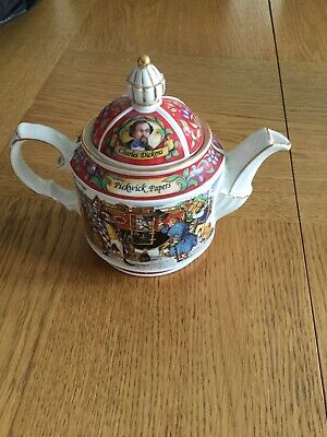 SADLER  'Pickwick Papers' Charles Dickens Collectable Teapot • 6.50£