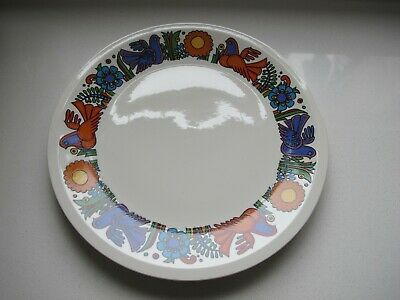 VILLEROY & BOCH ACAPULCO 9 1/5inc / 24 Cm  Plate Brown Backstamp MINT • 17.99£