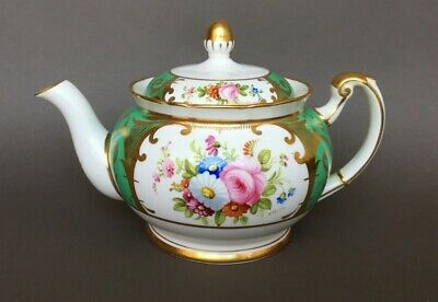 SMALL VINTAGE TEAPOT FOLEY BONE CHINA HAND PAINTED SIGNED A TAYLOR Elijah Brain • 29.99£