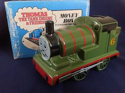 Large Wade Percy Money Box Bank FROM THOMAS THE TANK ENGINE & FRIENDS Boxed • 35£