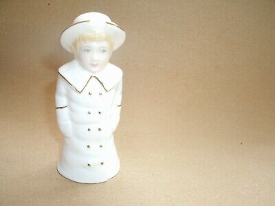 Royal Worcester Candle Snuffer Collector Society Boy In Boater • 4£