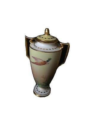 Mintons China Lidded Urn Pheasant Pattern OA Y65 Rare • 5£