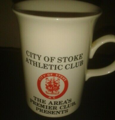 City Of Stoke Athletic Club Northwood Five Mug • 12£