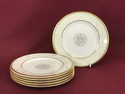 ROYAL DOULTON NAPLES 6 X SIDE PLATES 17cm - BRAND NEW/UNUSED Made In England • 4.99£