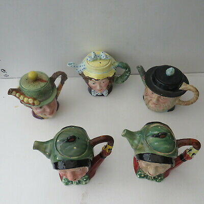 Beswick Dickens Character Teapots Set Of 5 • 90£