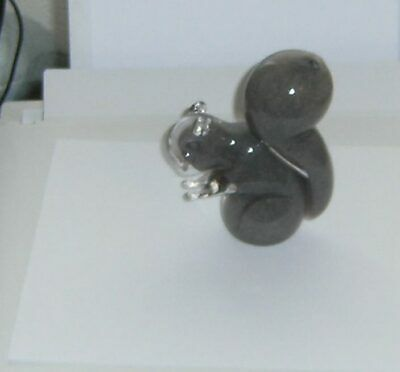 Wedgwood Glass Grey Squirrel • 9.99£
