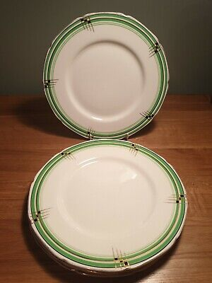 Grindley China The Chequers Dinner Plates X 4 • 4.99£