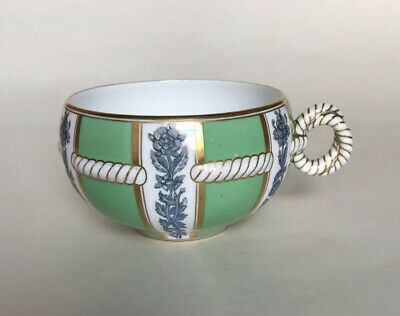 Rare Brown Westhead Moore Aesthetic Movement Tea Cup - Rope Handle • 51£