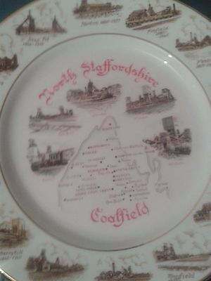 Staffordshire Coalfields Collector's Decorative Plate • 15£