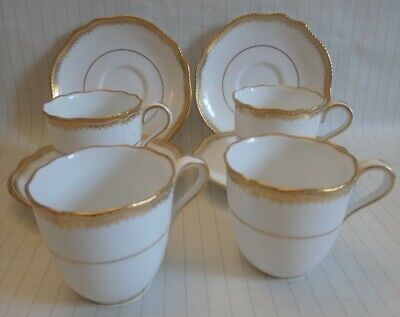C.1910 Spode Copeland China 4x Coffee Cups & Saucers. Made For Waring And Gillow • 14.99£