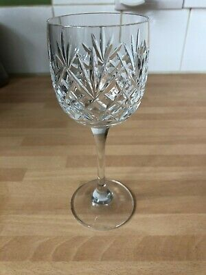 Bohemia Crystal Wine Glasses (four) Used But Perfect To Complete Incomplete Set • 10£