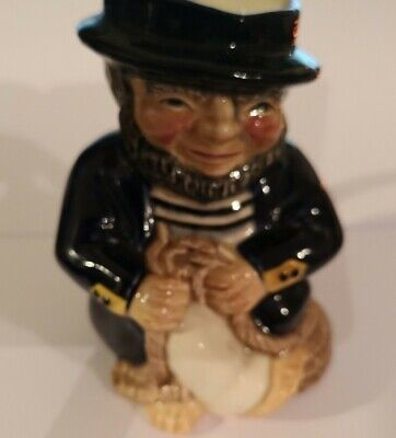 "Rare Roy Kirkham Collectible Toby Character Jug Staffordshire Pottery Sailor 5"". • 4.99£"