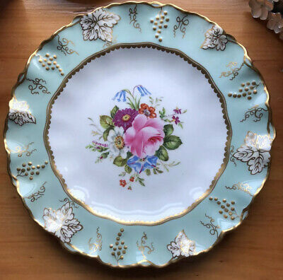 Royal Crown Derby Plate, 'Vine' Design, Signed F. Garnett • 15£