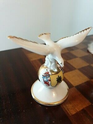 German Cuxhaven Crested China Seagull • 10£