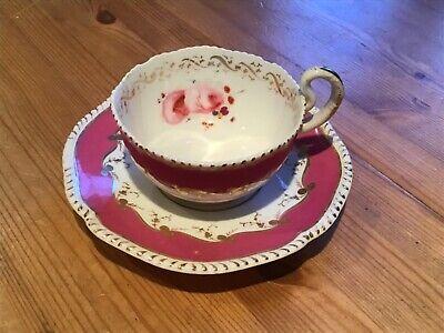 Old Cup And Saucer.worcester 1820/30 • 5£