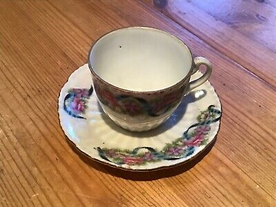 Old Cup And Saucer No Name. • 5£