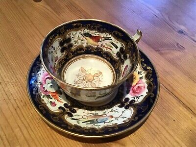 Old Cup And Saucer Coalport 1810 Pattern 759/159. • 5£
