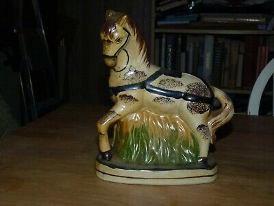 Staffordshire Pottery Draught Horse • 10£
