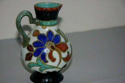 Antique Gouda Pottery Hand Painted Jag • 30£