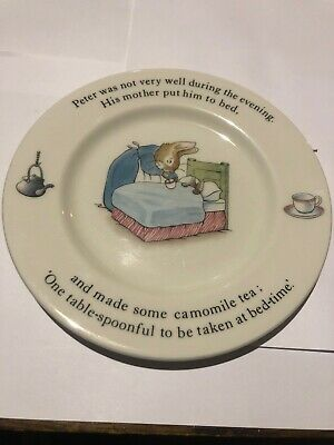 Wedgwood Peter Rabbit Plate • 4£