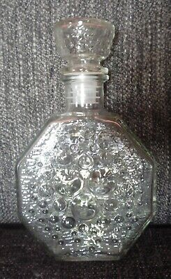 Vintage Nanny Still Polaris Decanter & Stopper Bottle Flask Riihimaen Finland • 19.99£