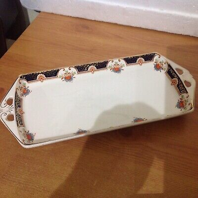 Vintage Woods And Son England Woods Ware Montrose Sandwich Plate • 2.99£