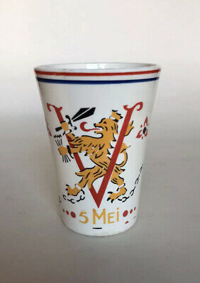 VE Day WW2 Commemorative Beaker - 1945-1955  (Mug) • 25£