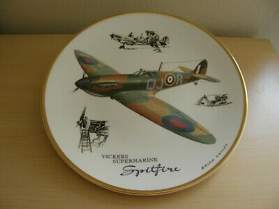Royal Doulton Plate Vickers Supermarine Spitfire By Brian Knight  • 9.99£