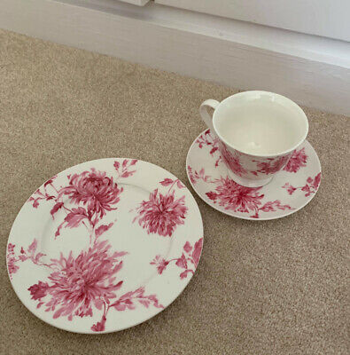 Laura Ashley Cup And Saucer And Side Plate Set • 9.99£