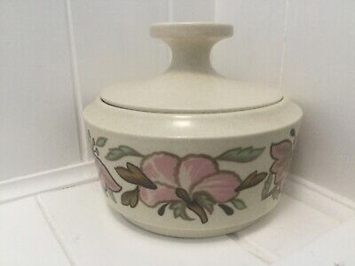 """Royal Worcester, Palissy, """"Lotus Blossom"""" Lidded Dish • 4£"""