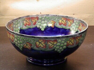 MALING 1930s Butterfly Lustre POTTERY BOWL • 50£