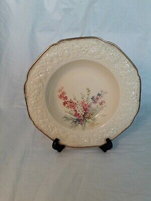 Vintage Crown Ducal Florentine Picardy 9 Inch Soup Dish  • 11.95£