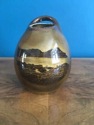 Ridgways Pottery Handled Bud Vase Featuring Scenes Of Northern Ireland • 5.99£