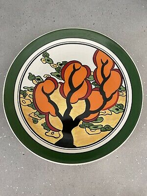 Clarice Cliffe Bizarre Limited Edition Plate 'orange Erin' By Wedgwood. • 5.90£