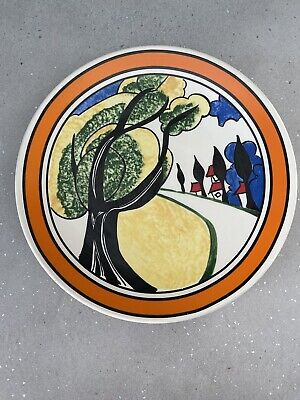 Clarice Cliffe Bizarre Limited Edition 'may Avenue' Plate By Wedgwood • 22£