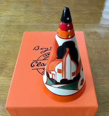 Wedgwood Clarice Cliff Centenary Conical Sugar Shaker  Bizarre  Farmhouse Design • 34£